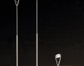 3D Hisle Luxpicket Outdoor Lamps