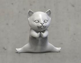 3D print model cats Low-poly