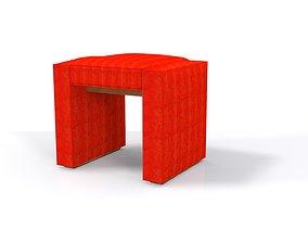 3D asset realtime Stool