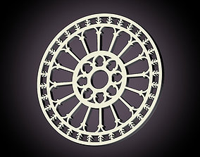 3D printable model Medieval rose window Ostuni Cathedral