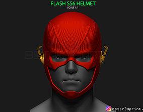 3D printable model Flash Helmet Season 6