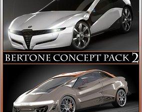 3D model Bertone concepts 2