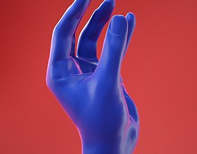 3D Male Hand 7