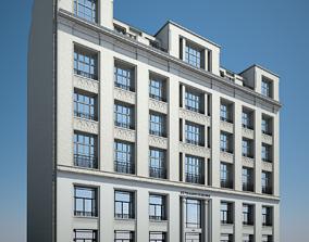 3D model Old Building XIV