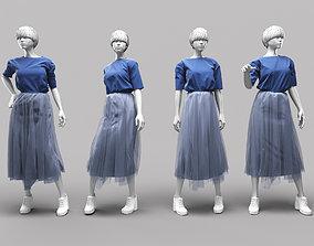 Woman Mannequin 17 3D model