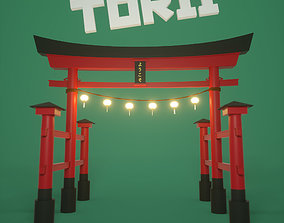 torii Torii Japonese 3D model