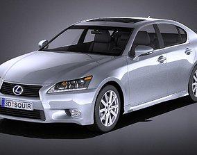 Lexus GS 300h 2015 VRAY 3D gs