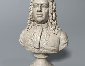 Handel Bust 3D model