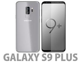 j5 3D model Samsung Galaxy S9 Plus Titanium Gray