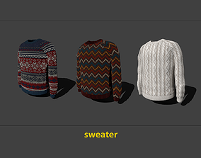 sweater 3D asset