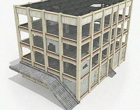 Derelict building 3D model