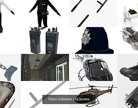 3D model Police Collection