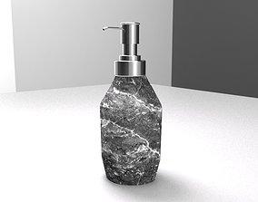 Soap Dispenser 3D model rigged