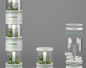 Sci-Fi Lab Hydroponic 3D