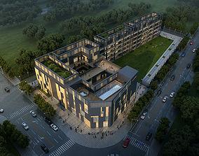 School Building 001A 3D model