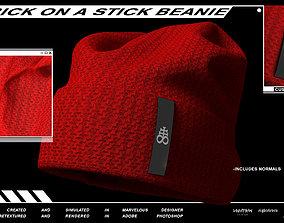Brick On A Stick Beanie 3D
