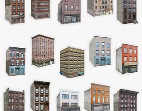 15 Apartment Building Collection 3 3D asset realtime