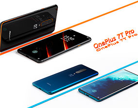 OnePlus 7TPro cell phone 3D