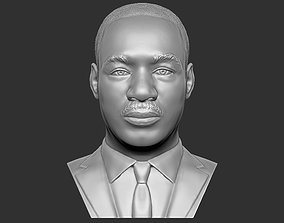 Martin Luther King bust 3D printing ready stl obj