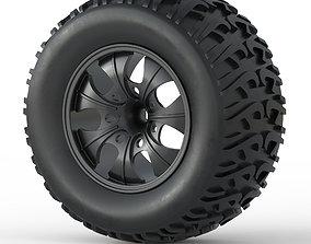design 3D print model Monster Truck Wheel Toy