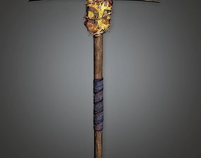 PAM - Post Apocalyptic Pickaxe - PBR Game Ready 3D asset
