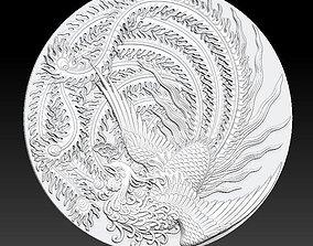 3D ancient phoenix