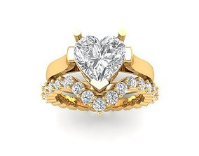 3D printable model 849 Diamond Ring