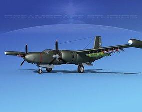 Douglas A-26K Invader Chile 3D