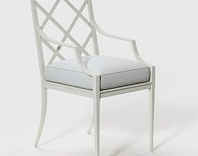 Otey Dining Arm Chair 3D