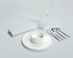 3D model Cutlery set kitchen