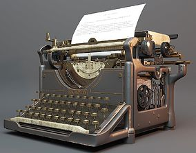 3D model UNDERWOOD TYPEWRITER