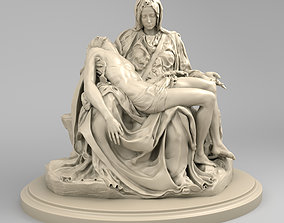 3D Pieta by Michelangelo Buonarroti