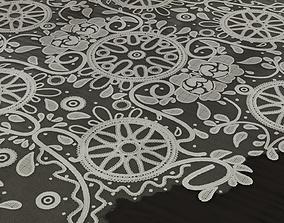 3D asset Lace Tablecloth