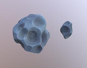 Stylized Meteorites 3D model