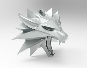 3D printable model Wolf School Medallion and Pendant