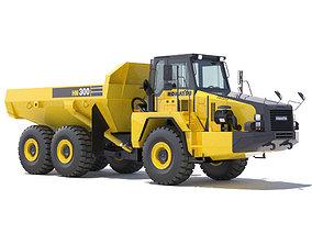 Articulated Dump Truck Komatsu HM300-2 3D