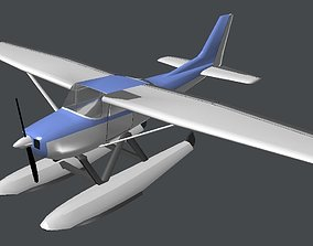 3D asset Seaplane