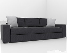 Modern sofa couch 3D model