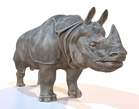 Rhino 3D asset