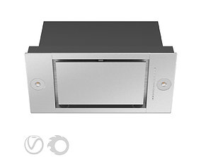 Mortise hood DA 2698 584 mm by MIELE 3D stainless