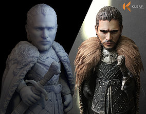 Game of thrones - Jon Snow 3D print model