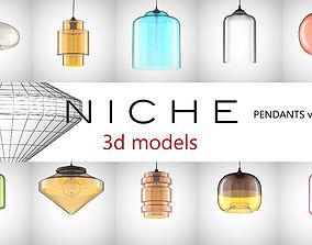 NICHE modern pendants collection vol 1 3D model