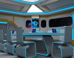 Sci Fi Meeting Room 3D