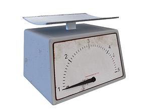 kitchen scales 3D model