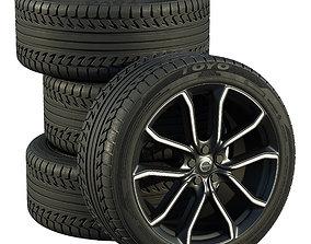 Volvo wheels 3D