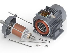 Electric Motor-Generator 3D