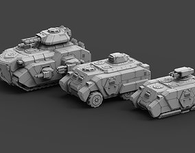 3D printable model Armored Might Full Release