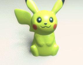 3D print model Pikachu Go