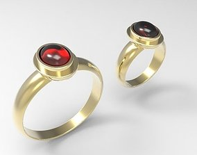 valentine Wedding rings for man and women 3D print model