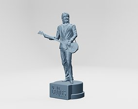 PAUL MCCARTNEY - THE BEATLES - ROOFTOP 3D print model